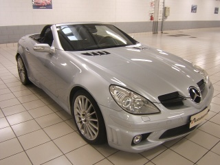 MERCEDES-BENZ SLK 55 cat AMG