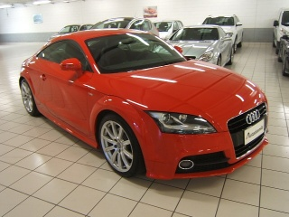 AUDI TT Coupé 2.0 TFSI S tronic Advanced S LINE